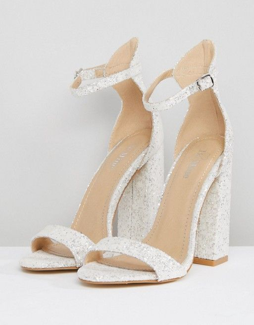 block heel wedding shoes