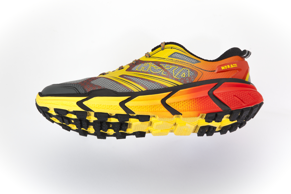 cushioned running shoes
