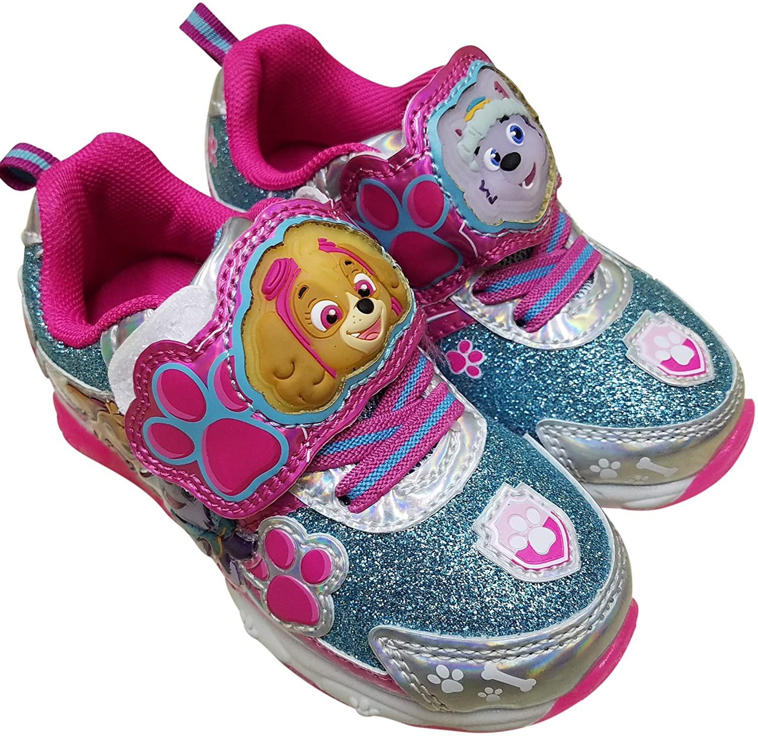girls light up shoes