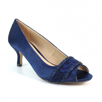 ladies navy shoes