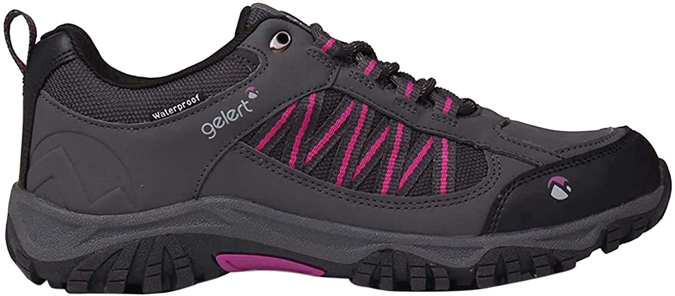 ladies waterproof walking shoes