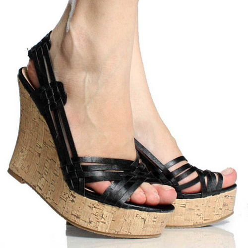 ladies wedge shoes