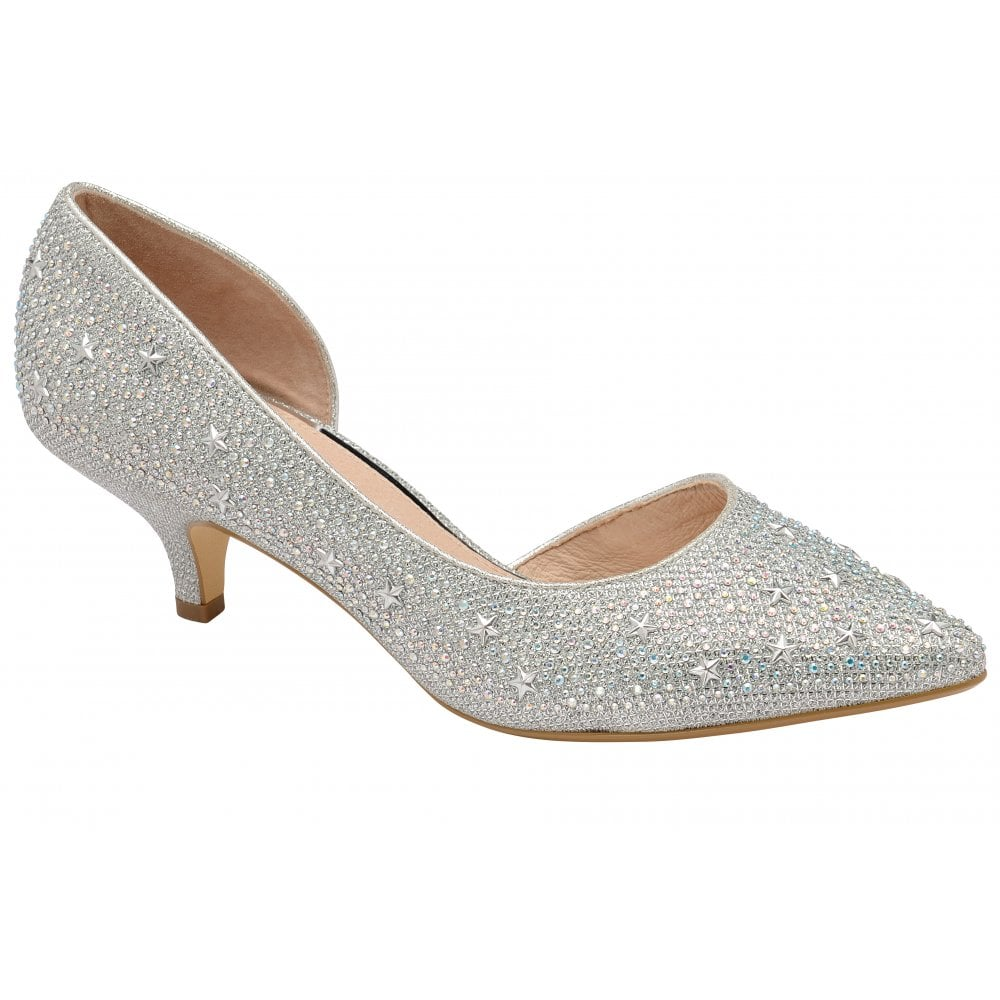 silver shoes women
